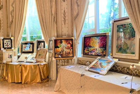 Artwork Setup at MaraLago